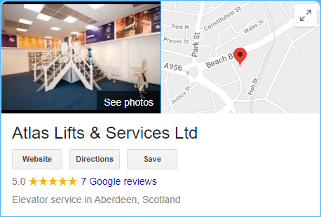 Atlas Lifts - Aberdeen Reviews